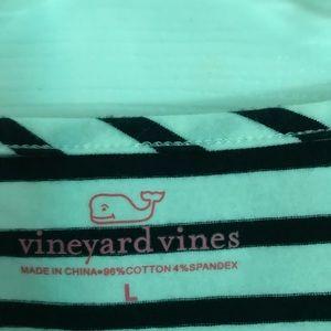 Vineyard vines long sleeve boat neck shirt